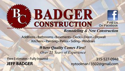 Avatar for Badger Construction