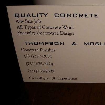 Avatar for Quality Concrte Dyersburg, TN Thumbtack