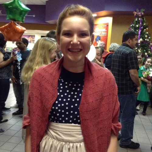 """Harper performing as Auntie Em in """"The Wizard Of Oz"""" at The Orlando Repertory Theatre"""