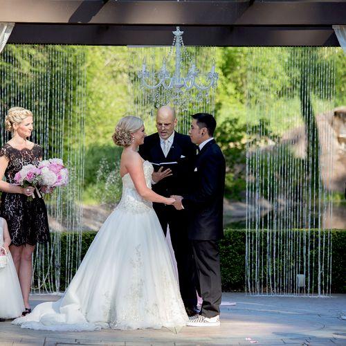 The Hicks-DeLeon Wedding, Rock Creek Gardens, Puyallup WA.