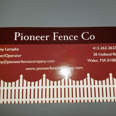 Avatar for Pioneer Fence Co