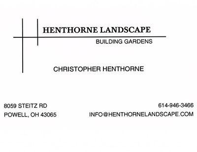 Avatar for Henthorne Landscape Powell, OH Thumbtack