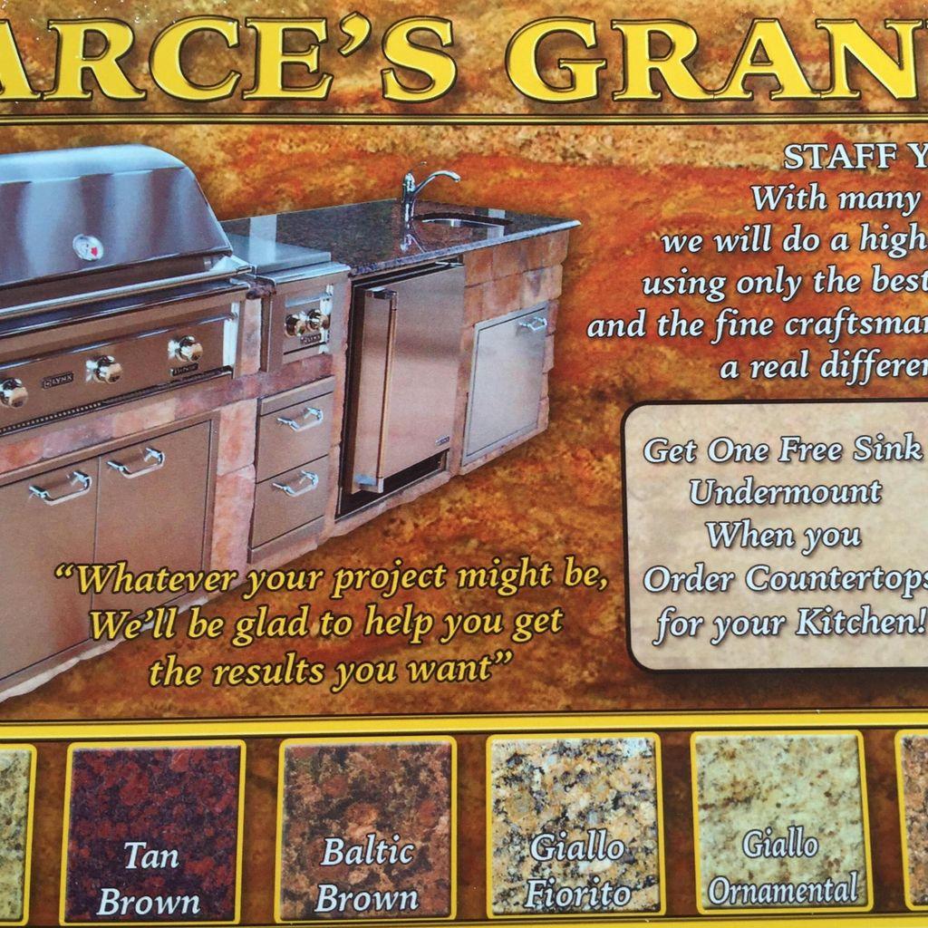 Arce's Granite(hablamos Espanol)