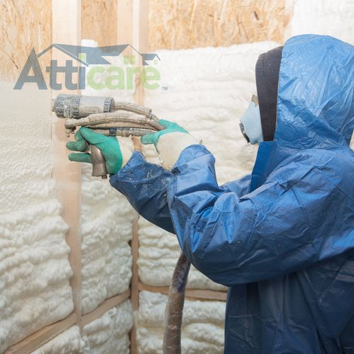 Spray Foam Insulation : Closed & Open Cell