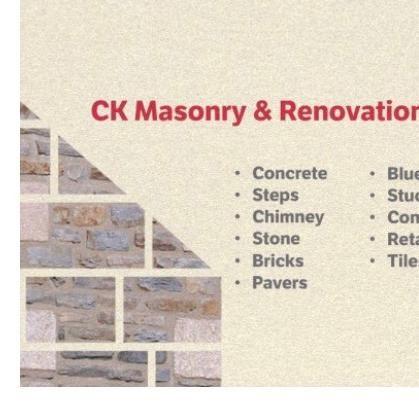 CK Masonry & Renovation LLC