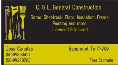 Avatar for C.&L  General Construction