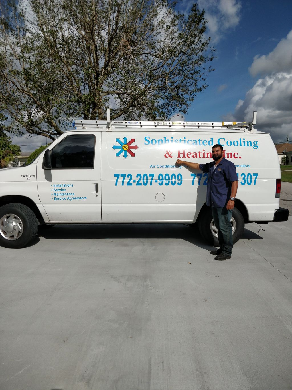 Sophisticated Cooling & Heating Inc.