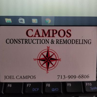 Avatar for Campos Construction Remodeling and Handyman Houston, TX Thumbtack