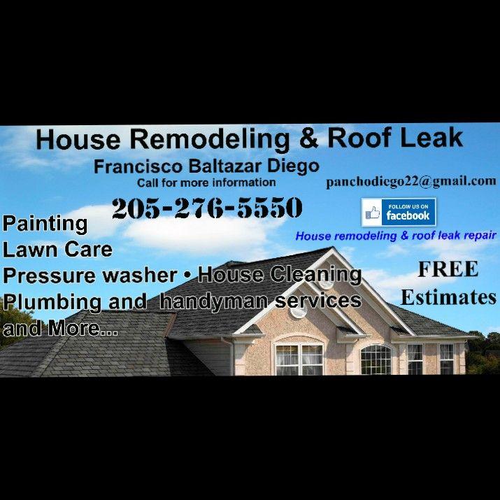 House remodeling& roof leak repair