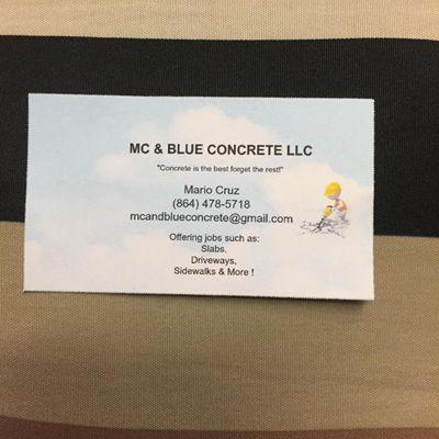 Avatar for MC & BLUE CONCRETE  LLC