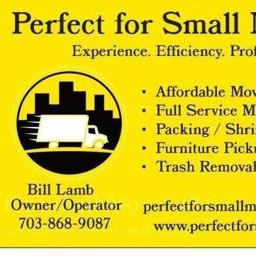 Perfect for Small Moves LLC