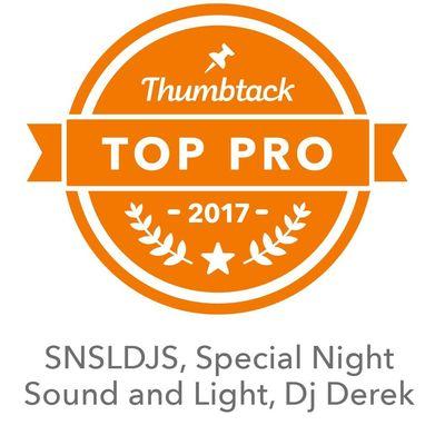 Avatar for SNSLDJS, Special Night Sound and Light, Dj Derek Somerset, MA Thumbtack