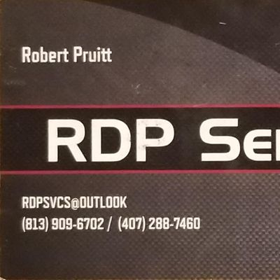 Avatar for RDP Services Lutz, FL Thumbtack
