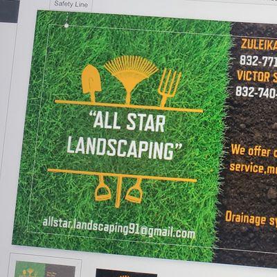 Avatar for All star landscaping Houston, TX Thumbtack