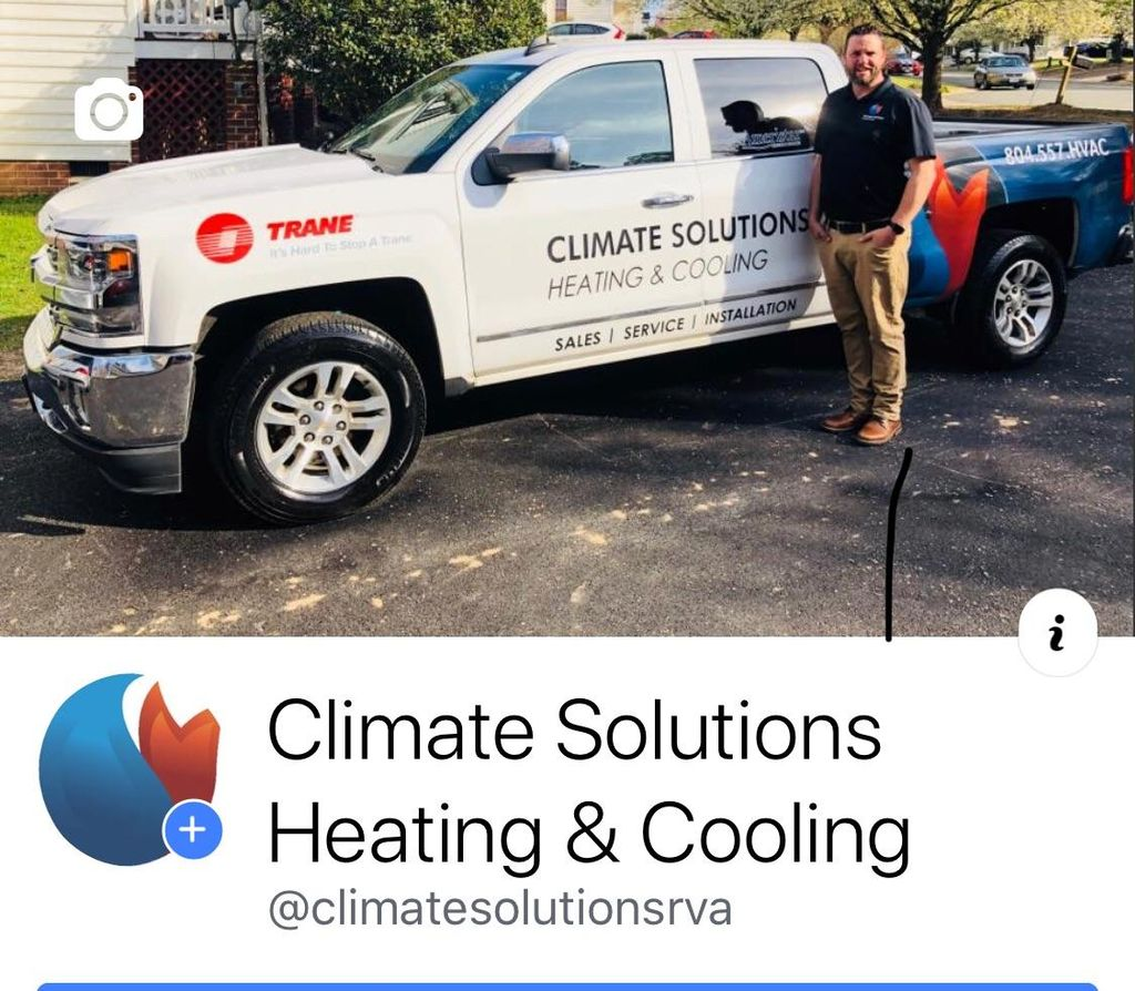 Climate solutions heating and cooling
