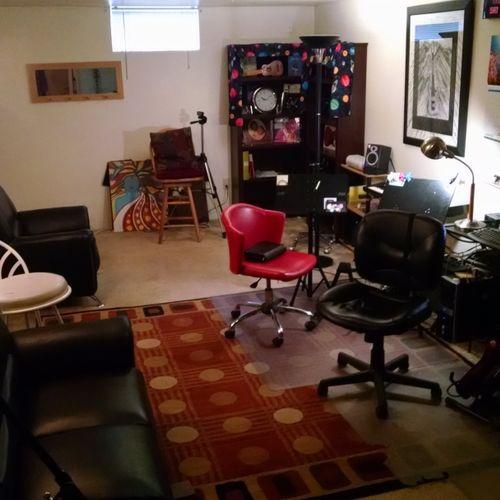 My new studio is huge