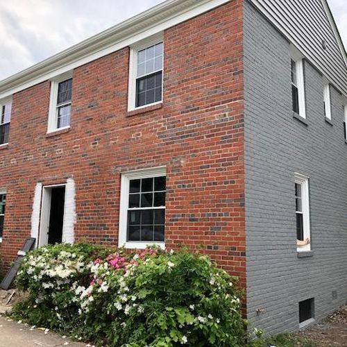 Brick Home-Before