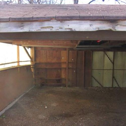 After - Garage  / Shed Clean Out