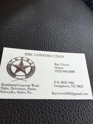 Avatar for RMC construction Georgetown, TX Thumbtack