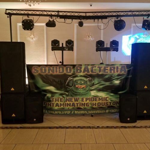 Sonido Bacteria Set, in where hall is meduim size