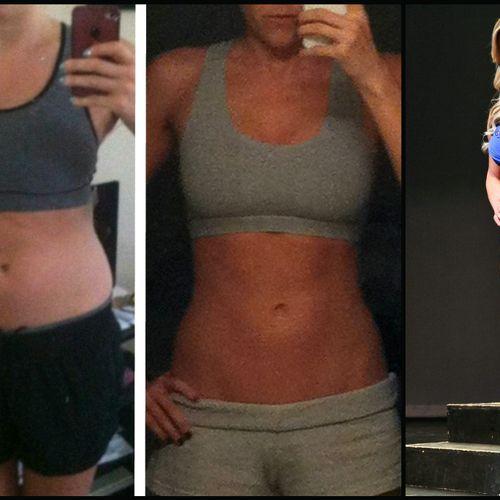 Tiffany. 11lbs fat loss. 6lbs muscle gain. 90 days.