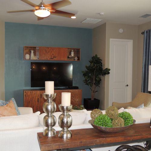 Modern; Family Room