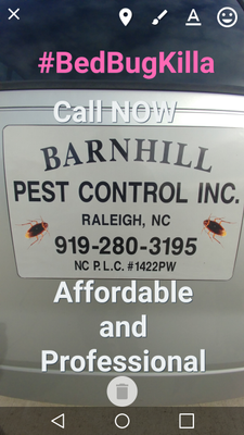 Avatar for Barnhill Pest Control Inc. (PW1422) Raleigh, NC Thumbtack