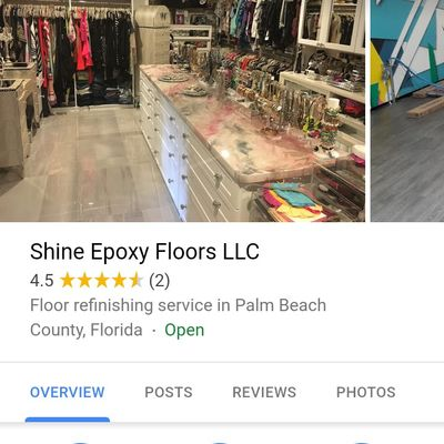 Avatar for Shine Epoxy Floors LLC Boca Raton, FL Thumbtack