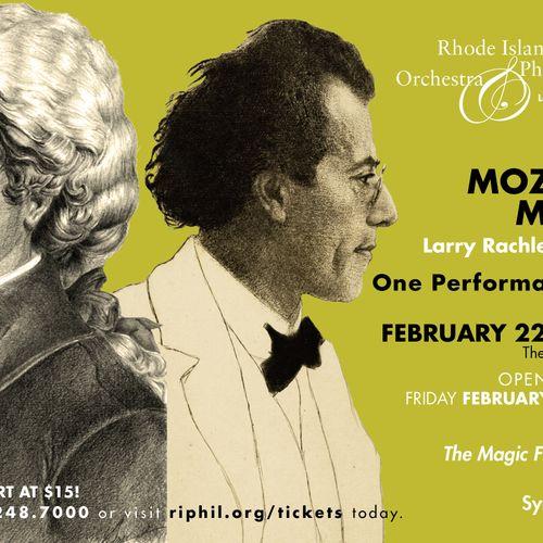 Rhode Island Philharmonic Orchestra- postcard design