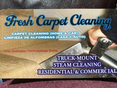 Avatar for Fresh Carpet Cleaning Modesto, CA Thumbtack
