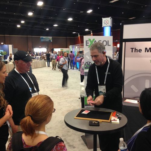 Small or large crowds, trade show magic gets prospects wanting to know more about your product or service.
