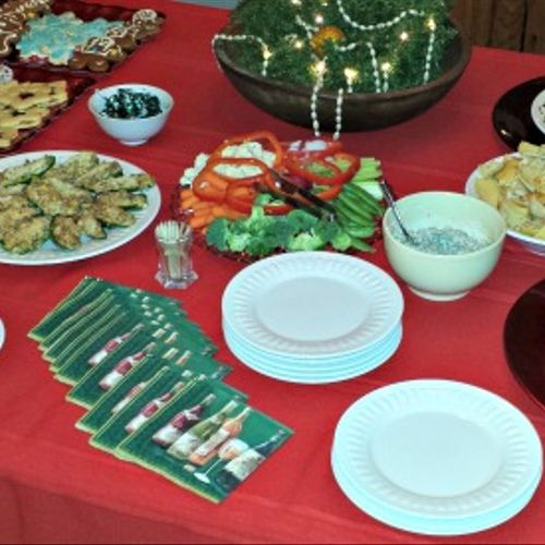 """A simple Holiday brunch. Impress your friends by saying """"Oh, it was nothing!"""""""