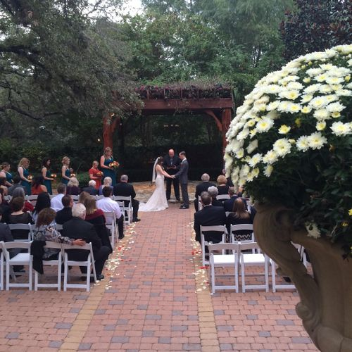 Music and microphones for wedding ceremonies and receptions
