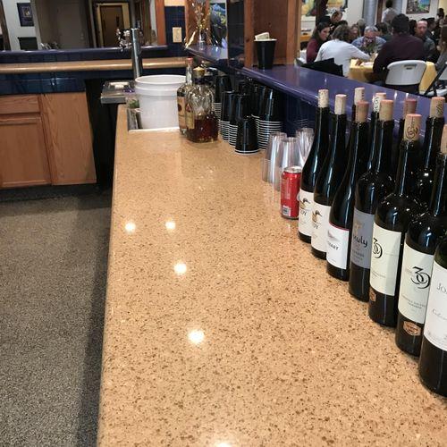 Wine, crown, vodka, & mixers!