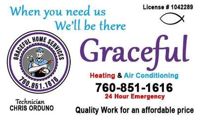 Avatar for Graceful heating and air Conditioning La Quinta, CA Thumbtack