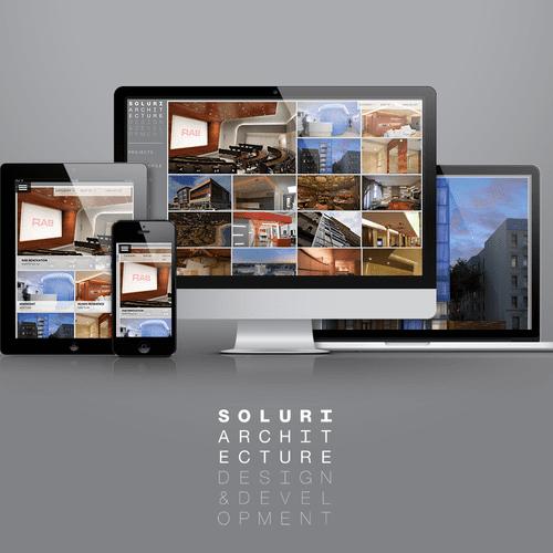 Soluri Architecture Website: Custom Wordpress Website Design and Development