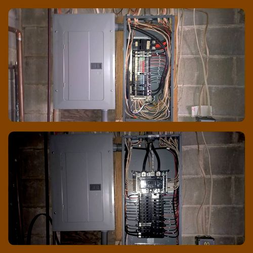 200A Zinsco Panel Replacement to Square D