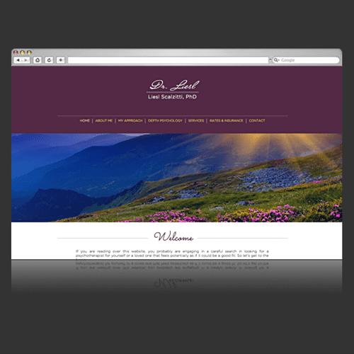 Website Design :: DrLiesl - Psychotherapist