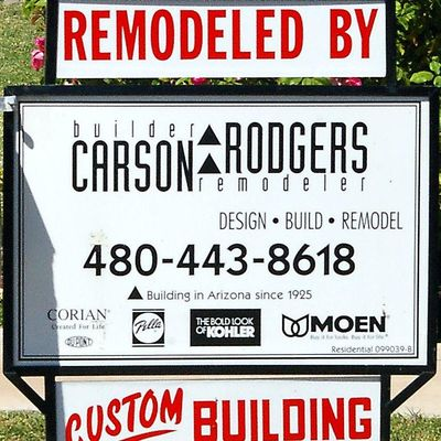 Avatar for Carson Rodgers Builder Remodeler Inc. Scottsdale, AZ Thumbtack