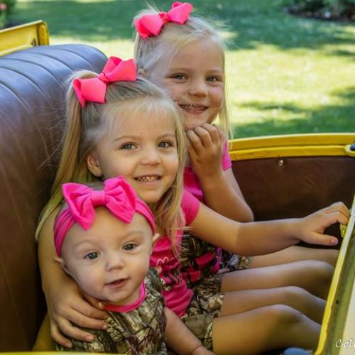 Kids in the rumble seat