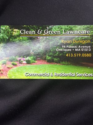 Avatar for Clean And Green Lawncare Chicopee, MA Thumbtack