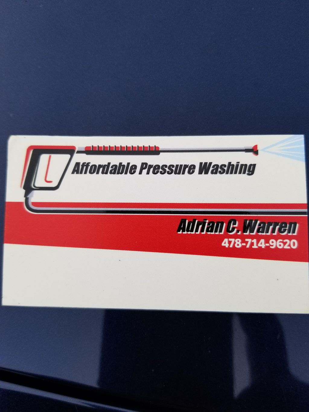 Affordable pressure washing
