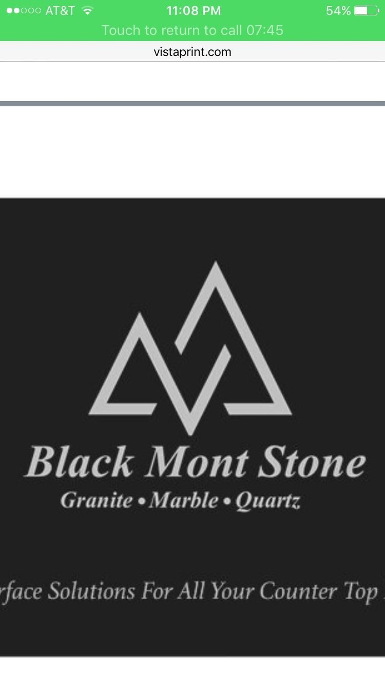 Black Mont Stone