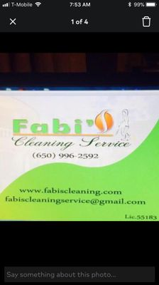 Avatar for Fabi's Cleaning Services. Palo Alto, CA Thumbtack