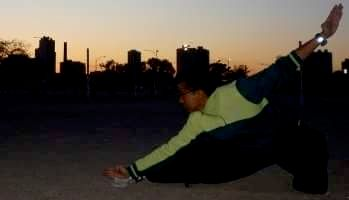 Traditonal Stance training builds flexibility and lower body strength, and back/core strength.
