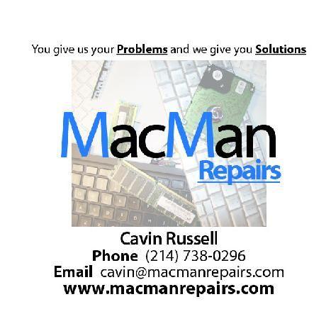 MacMan Repairs