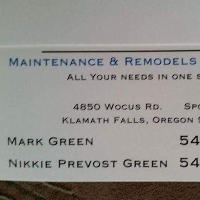 Avatar for Mark's Maintenance Remodel and Repairs Klamath Falls, OR Thumbtack