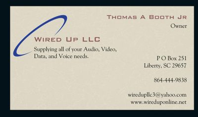 Avatar for Wired Up, LLC Liberty, SC Thumbtack