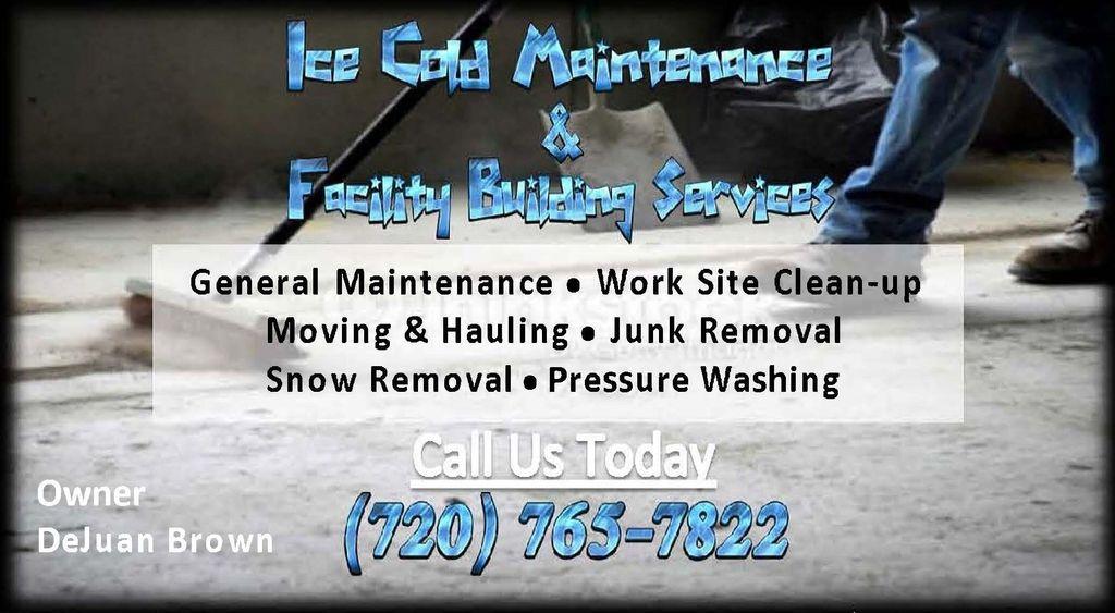 Ice cold maintenance & FBS LLC