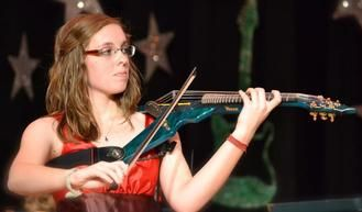 In addition to a traditional violin, I also play a 6 string electric violin.
